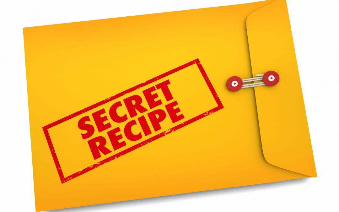 Our secret recipe